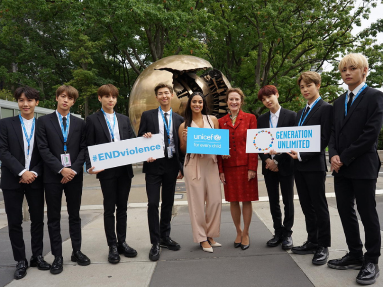 BTS a UNICEF
